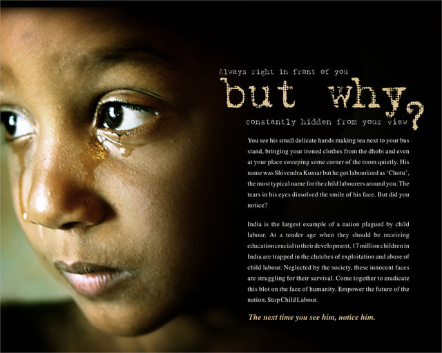 STOP CHILD LABOUR IN INDIA,EDUCATE THEM