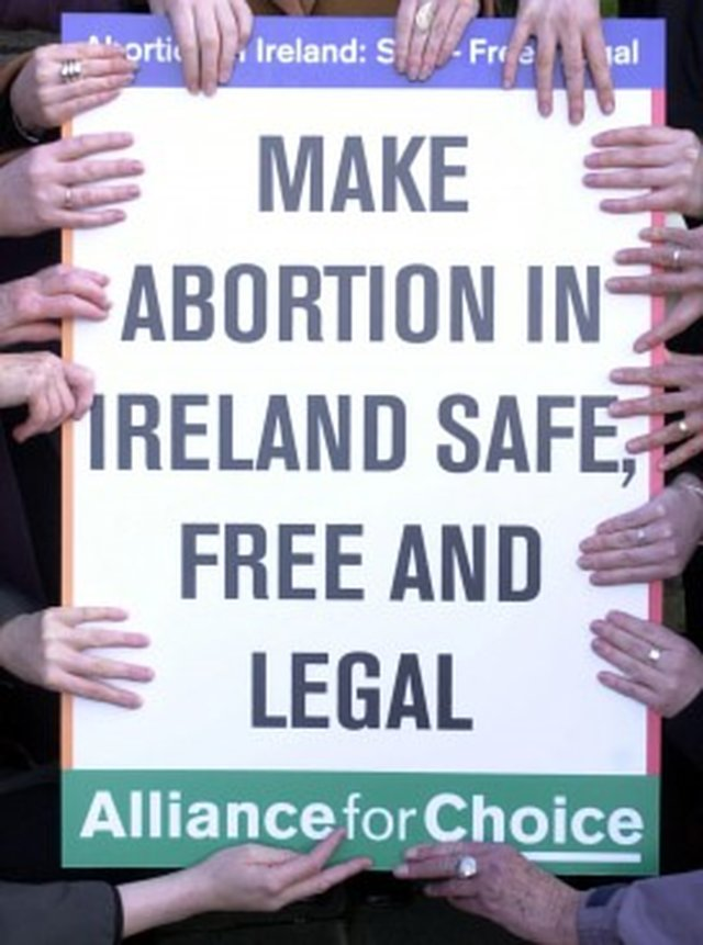 Show Support for Irish Abortion Legislation