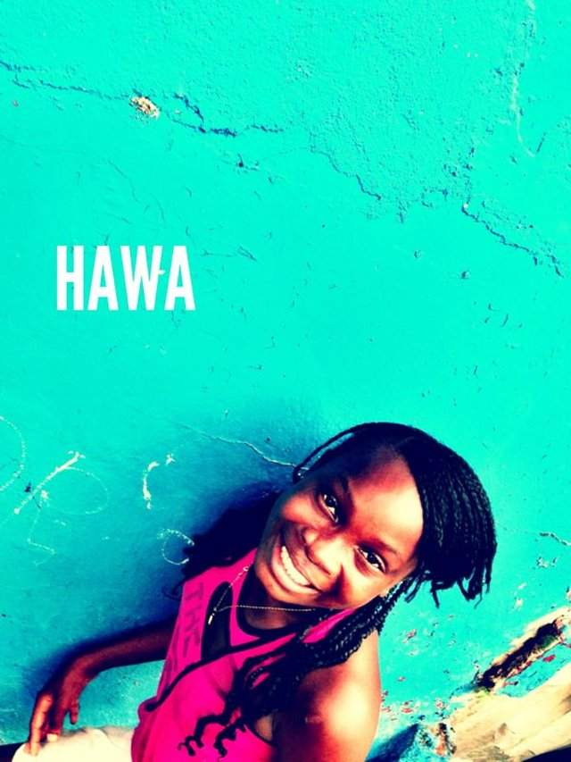 Meet Hawa at the Finish Line!