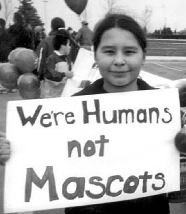 Tell the U.S. Dept. of Education to Ban the Use of American Indian Mascots in Schools