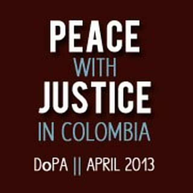 Support Peace with Justice in Colombia!