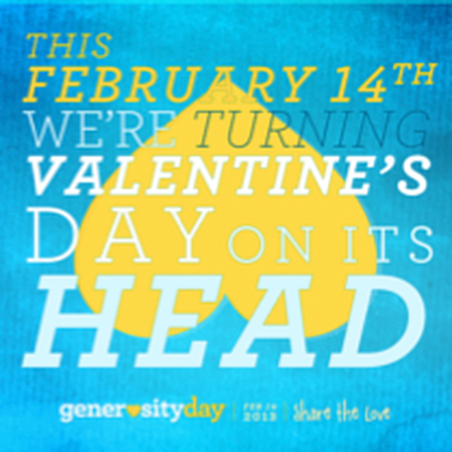 Pledge to participate in Generosity Day