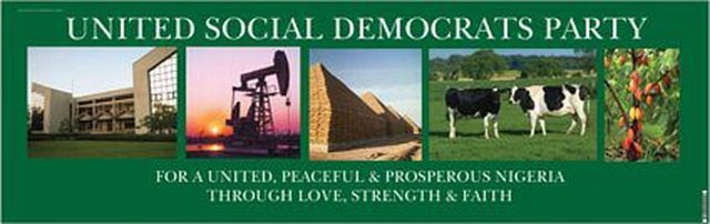 UNITED SOCIAL DEMOCRATS PARTY OF NIGERIA
