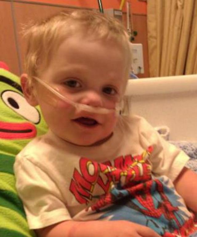 Help Jaxon Get On The Heart Transport List