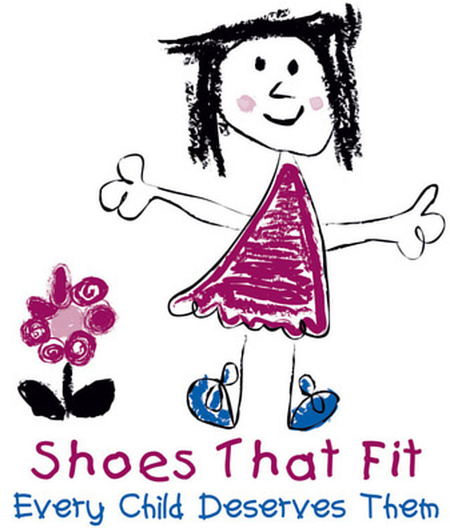 Shoes that fit for children