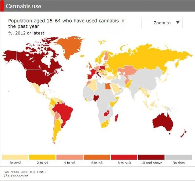 legalize marijuana globally