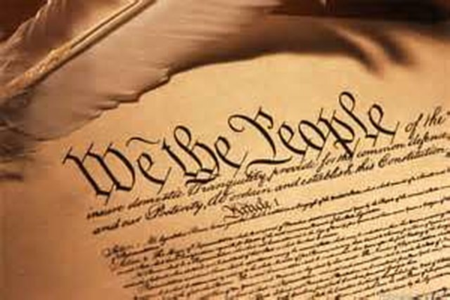 Read the Constitution & Bill of Rights twice a year