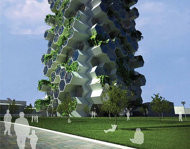 raise funding to construct automated eco gardens
