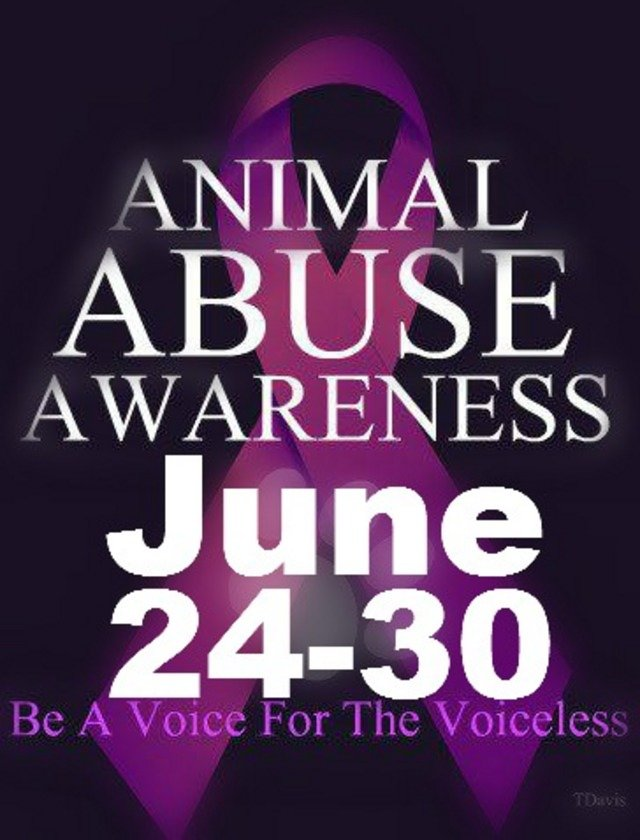 Event June 24-30 Turn Facebook Purple to show your support for animals.