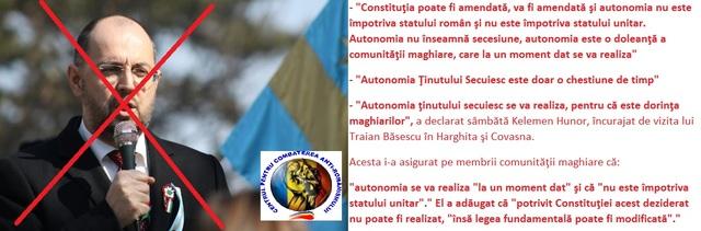 Presedintele UDMR, Kelemen Hunor In ATENTIA  PARCHETULUI GENERAL si PROCURATURA