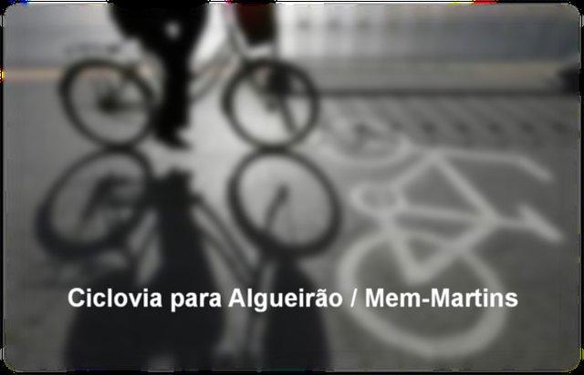 Construção de Ciclovia em Algueirão/Mem-Martins [Sintra]