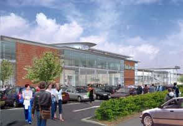 we support john lewis for sprucefield