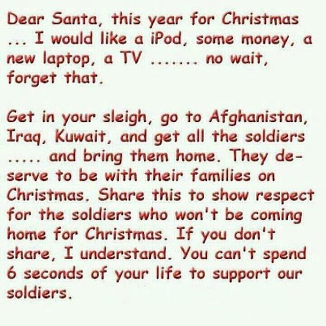 the people of Britain stand up for our service men and women