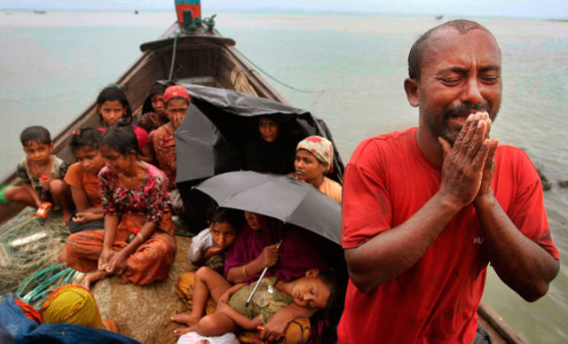 stop the genocide of Rohingya Muslims in Burma
