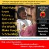 Words Make People Leadership & Community Service Scholarship