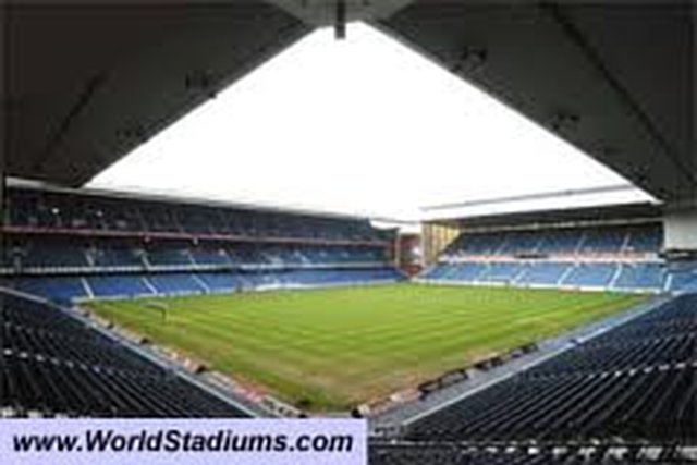 For Charles green to open ibrox for the reserve game