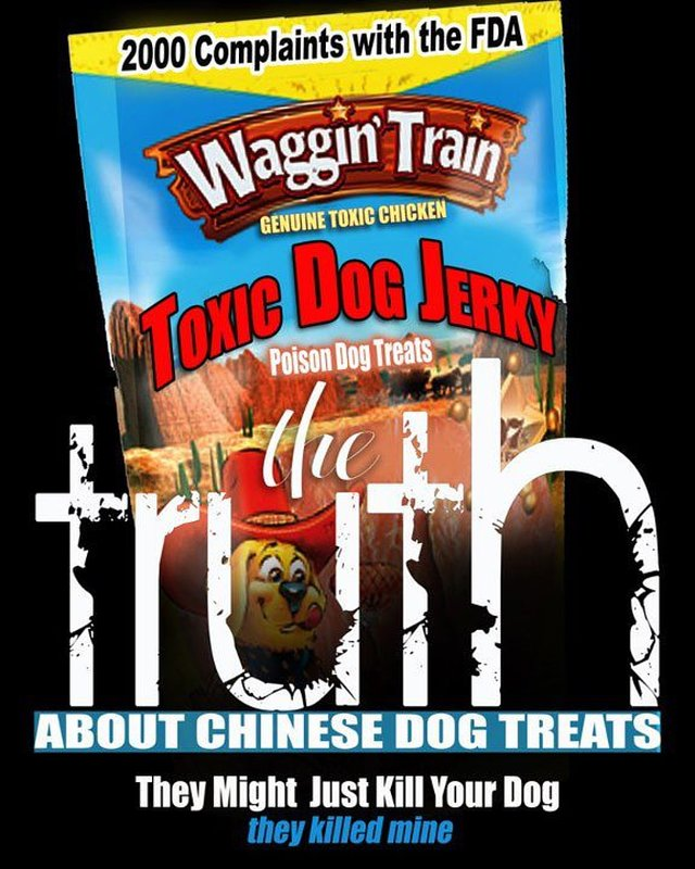 Ban all poisonous chicken jerky treats imported from China