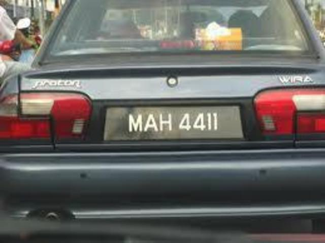 Car registration plate must be a controlled item to stop criminals from using false plate numbers to