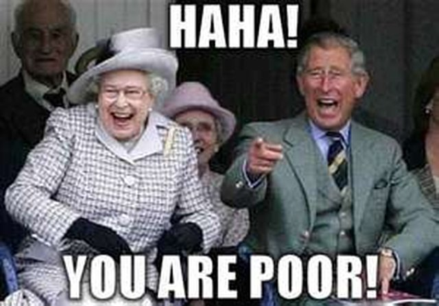 CUTBACK PUBLIC PURSE ON ROYALS.