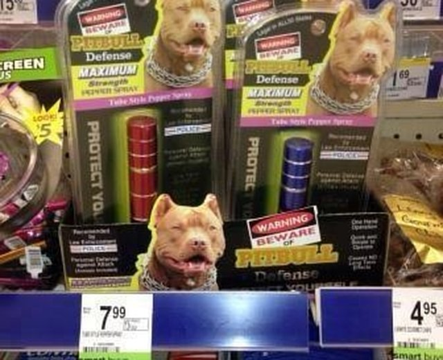 "Remove -""Pitbull Defense Max Strength Pepper Spray""  from Walgreen's and any other Retailer shelves!"