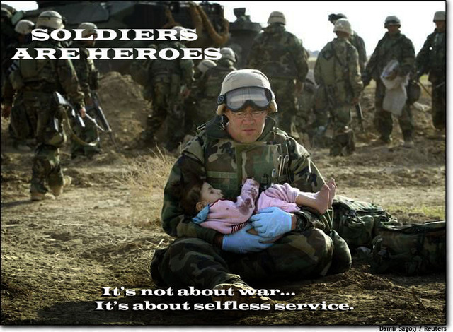 support our soldiers, our heroes