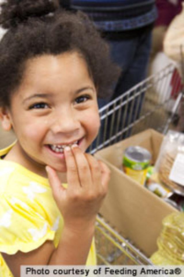 Help keep America's food banks stocked