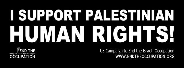support Palestinian human rights