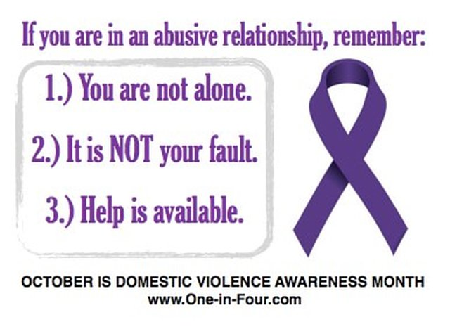 Purple Profiles for Domestic Violence Awareness Month