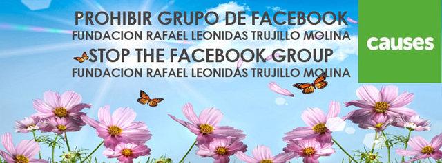 get Facebook to remove Fundación Rafael Leonidas Trujillo