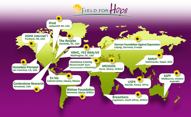 DONATE $1 to Field For Hope 2012 and help Eradicate the Stigma of Depression