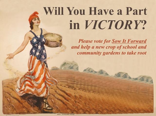 Please Help us Win a $5000 Grant for School & Community Gardens