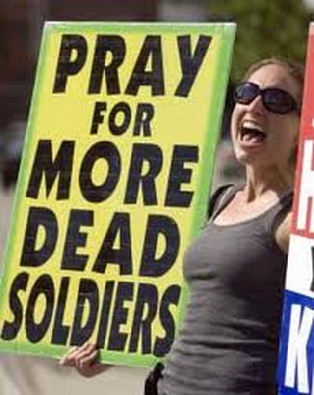 REMOVE Protestors from American Military Funerals