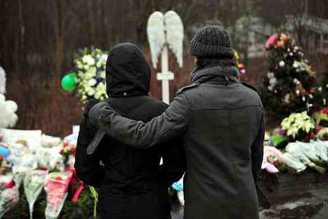 support national day of mourning honoring Sandy Hook victims