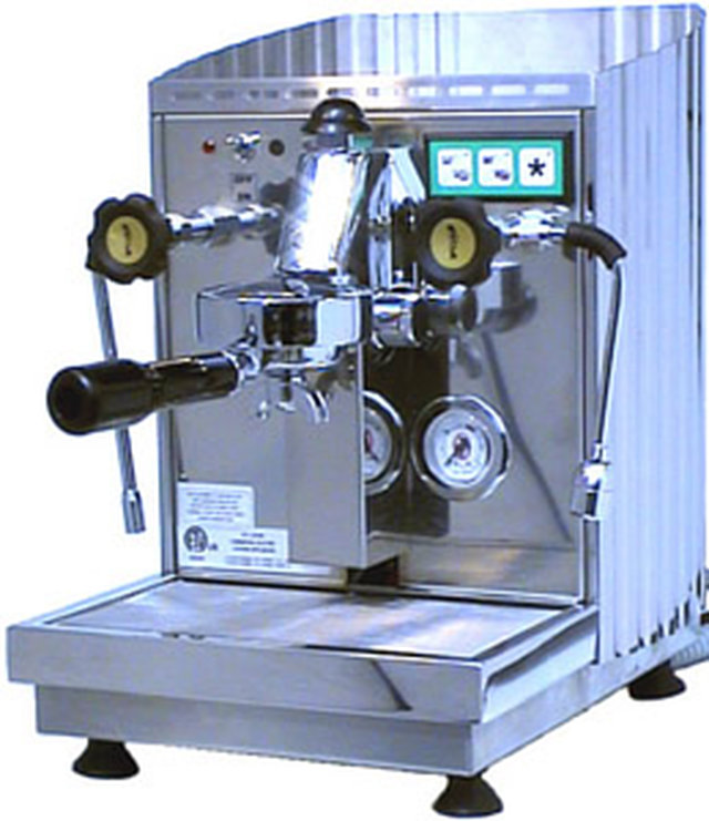 Contribute to an office espresso machine