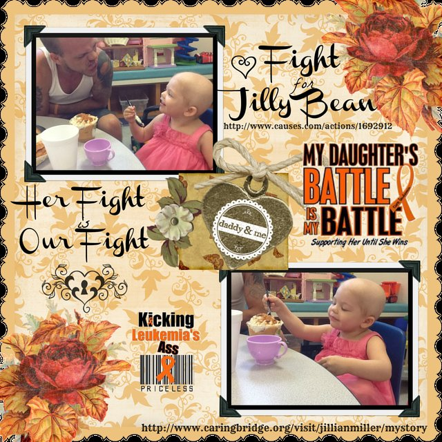 FIGHT FOR JILLIAN - CHILDHOOD CANCER AWARENESS ALL YEAR LONG