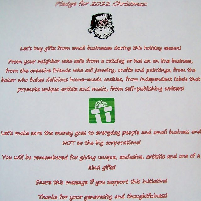 Shop from small businesses this holiday season!