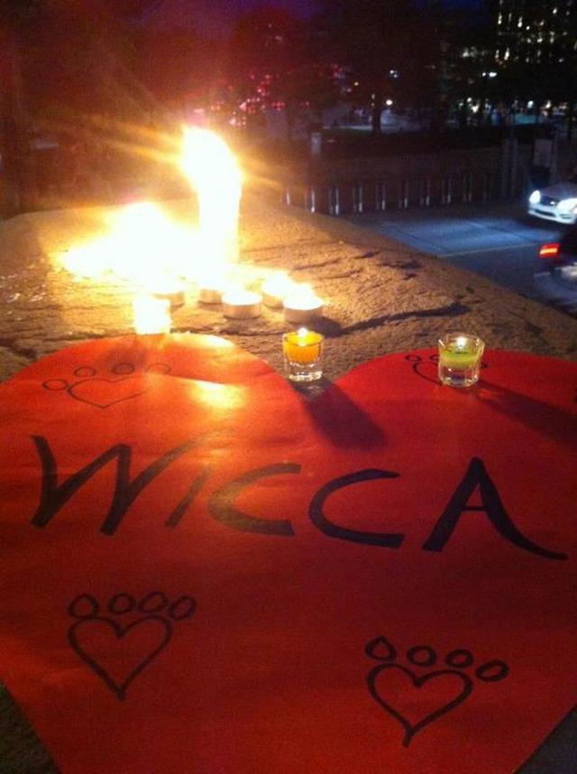 In memory of wicca/En mémoire de wicca