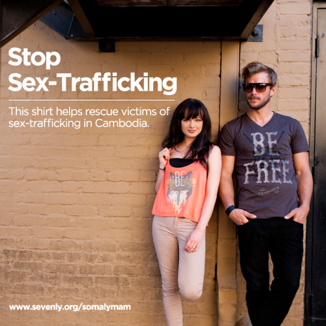 stand up to stop human trafficking
