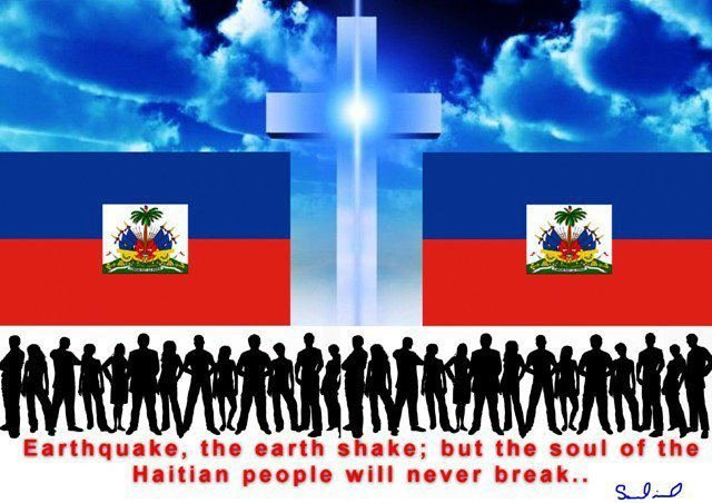 "HELP"""" HAITI""""CROSS  THE BRIDGE OF HOPE"