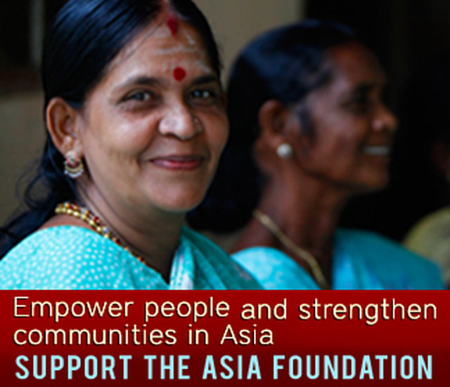 Make a Year-end Contribution to The Asia Foundation Today
