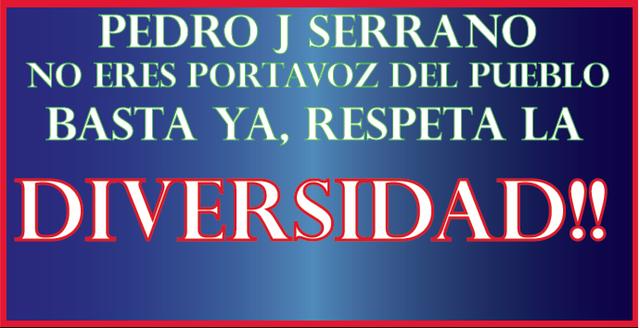 Pedro J Serrano Basta Ya