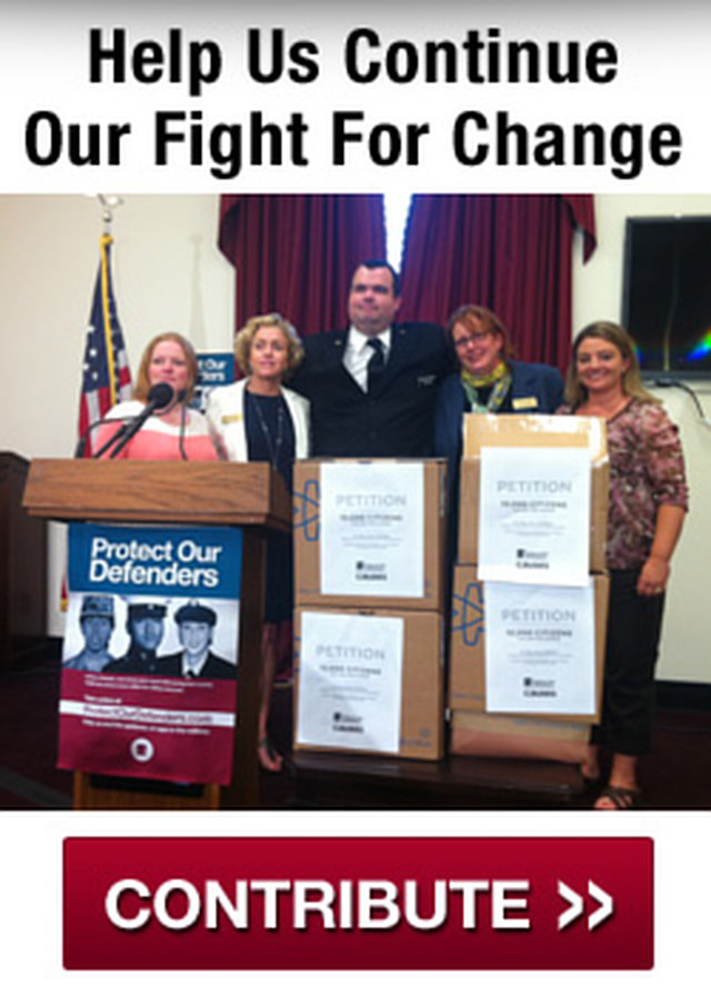 Help Us Continue Our Fight For Change