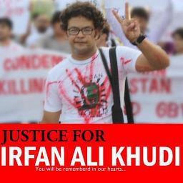 In Solidarity with Irfan Ali Khudi & all Shia Community
