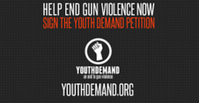 Youth Demand End Gun Violence Now