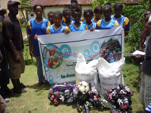 Give a Helping Hand to at Risk-Youth in Haiti