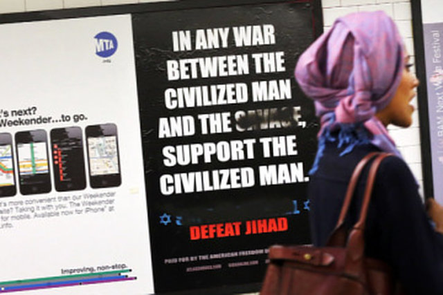 Say NO to Anti-Islam Metro Ads !