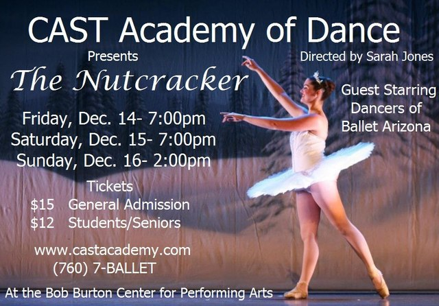 Help bring our Nutcracker to the stage!!‏