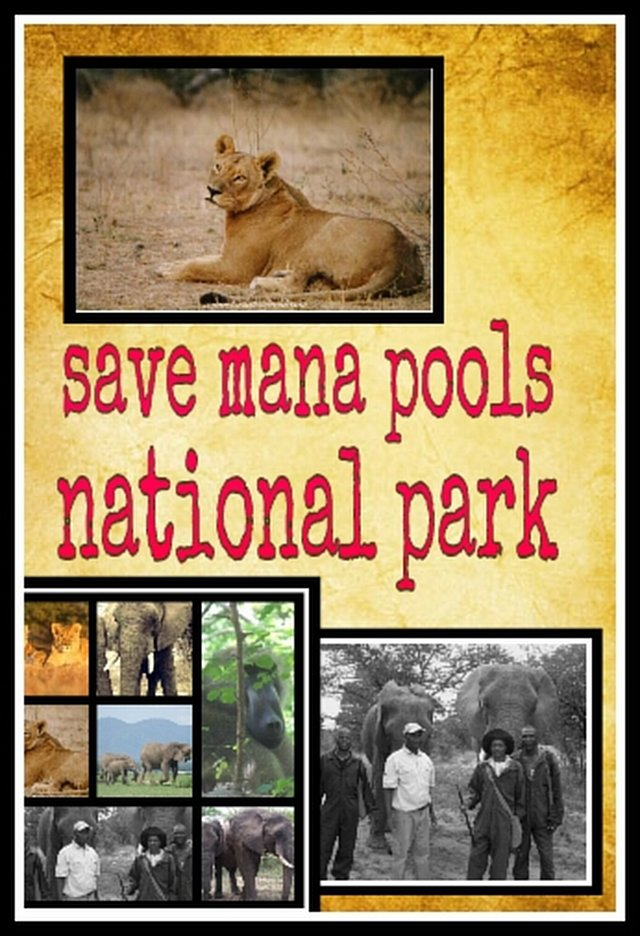 SAVE MANA POOLS NATIONAL PARK. NO MINING OR EXPLOITATION ALLOWED