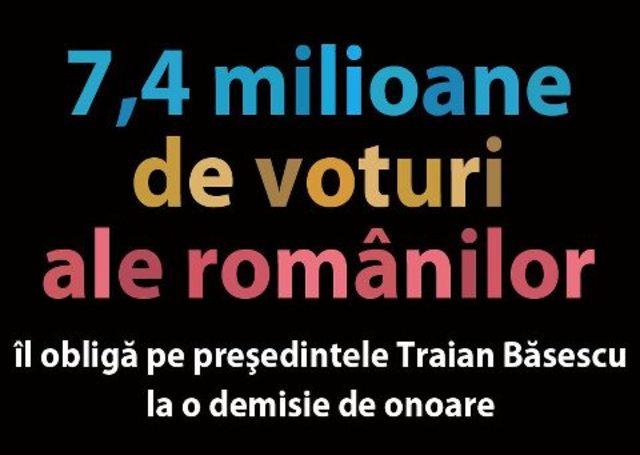 Pana aici, domnule Basescu! ... De aici, Crin Antonescu!