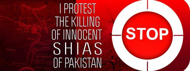 stop Shia killing in Quetta Pakistan